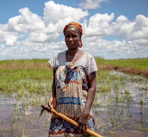 Recent flooding in Sofala province, Mozambique, affected more than 70,000 people and one year after the devastation of Cyclone Idai, once again destroyed harvests and homes.