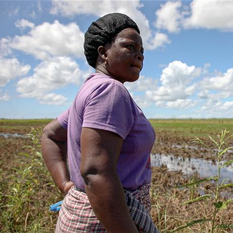 Flooding in Sofala province, Mozambique, once again destroyed harvests and homes.
