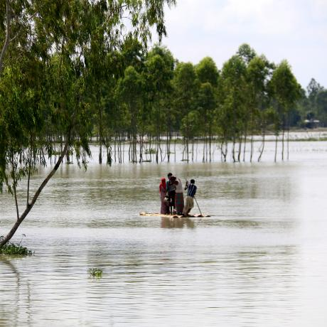 South Asia is particularly prone to climate disasters and has some of the highest levels of climate-fuelled displacement