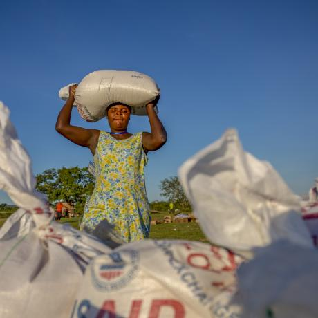 Zimbabwe is experiencing its worst hunger crisis in more than a decade.