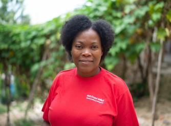 Mona Desir is a nurse and a member of a network of women leaders in Haiti.