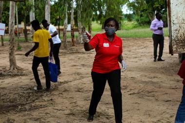 AA Ghana sanitary pads